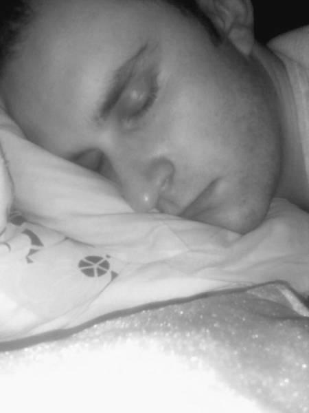 ktoś pyknoł mi fotkę podczas snu:)